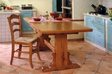 Middle Extensible Fratino Table with chair